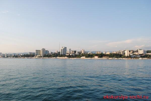 Черноморское побережье Сочи