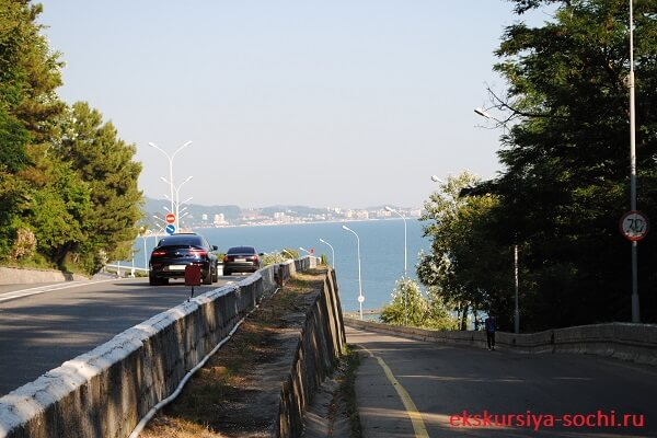 Обзор развязки автострады Сочи-Адлер
