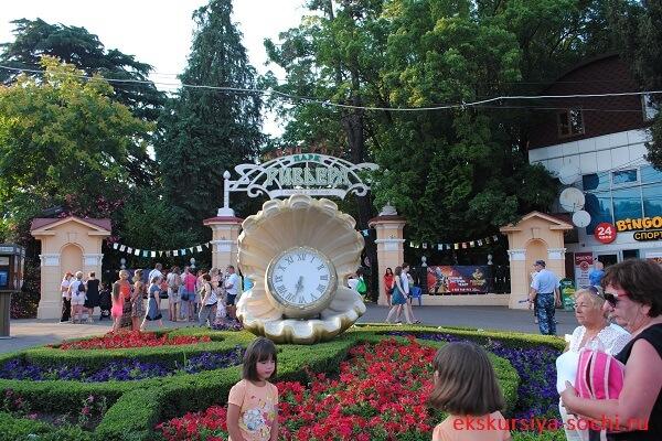 Осмотр знаменитого парка Ривьера