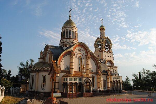 Православная церковь на ул. Виноградной