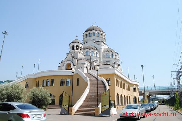 Церковь олимпийского парка
