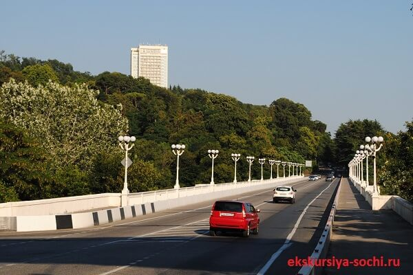 Мацестинский мост Сочи