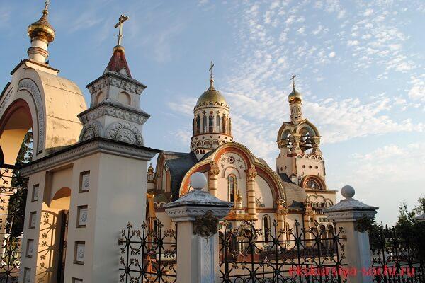 Храм Святого князя Владимира Сочи