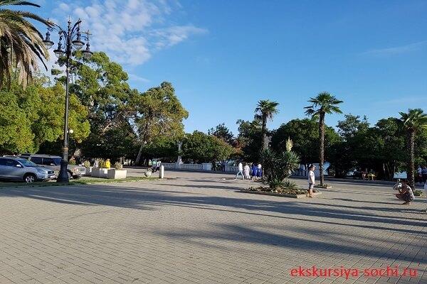 Набережная в Сухуми