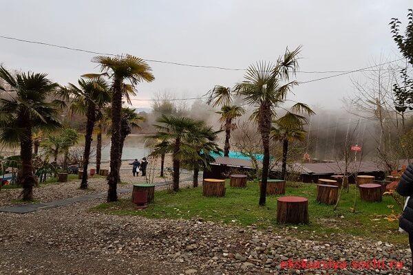 Термальные источники Абхазия