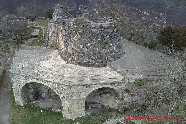 Вид на древнюю Анакопию