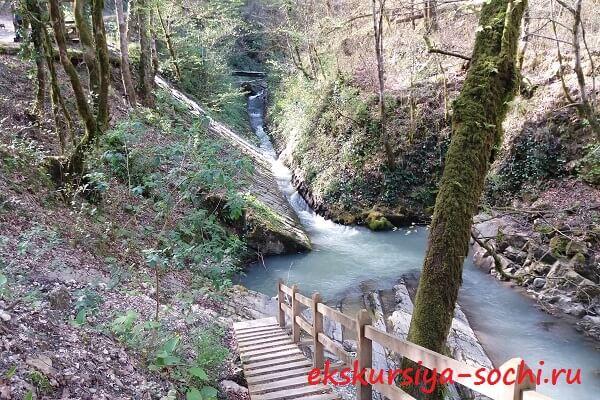 Дорога до третьего водопада